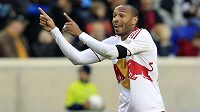 Thierry Henry v dresu týmu New York Red Bulls.