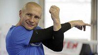 Boxer Lukáš Konečný se připravuje na životní zápas, 6. října se v Brovarech u Kyjeva utká s Rusem Zaurbekem Bajsangurovem o titul profesionálního mistra světa organizace WBO v lehké střední váze.