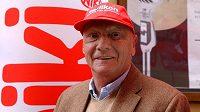 Slavný rakouský závodník Niki Lauda.