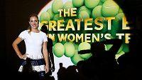 Nejlepší tenistka roku 2016 Angelique Kerberová z Německa.