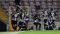 Radost hráčů Besiktase, ilustrační foto.