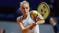 Marta Kosťuková řádí i na turnaji ve Stuttgartu.