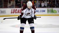 Slovenský bývalý hokejista Marek Svatoš ještě v dresu Colorada v NHL.