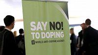 Snímek z březnového sympozia agentury WADA v Lausanne.
