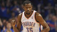 Nejužitečnějším hráčem NBA se stal Kevin Durant z Oklahomy.