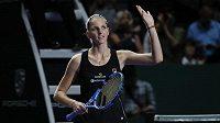 Je dobojováno. Karolína Plíšková je po výhře nad krajankou Petrou Kvitovou v semifinále Tunaje mistryň.