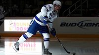 Ondřej Palát zažil v dresu Tampy Bay premiéru v NHL.