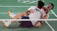 Vicemistři světa z roku 2018 Wang I-lu a Chuang Tung-pching ovládli olympijský turnaj