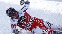 Ondřej Bank zajel ve švýcarském Wengenu skvělý sjezd a v obrovské konkurenci obsadil deváté místo.