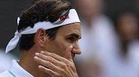 Švýcarský šampion Roger Federer dohrál letos ve Wimbledonu ve čtvrtfinále.