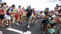 Chris Froome (vpředu) bude i v příštím ročníku Tour jedním z hlavních adeptů na celkové vítězství.