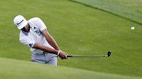 Americký golfista Dustin Johnson na PGA Championship.