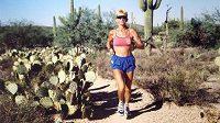 Pam Reed, běžkyně vítězící v těch nejtvrdších závodech.
