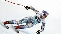 Česká lyžařka Ester Ledecká v závodu sjezdu Světového poháru ve švýcarské Crans Montaně. Jak si povede v Super-G?