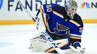 Jordan Binnington, brankář St. Louis Blues.