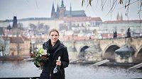 Eliška Krupnová, nejlepší florbalistka světa za rok 2020.