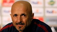 Trenér Luciano Spalletti.