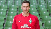 Jiří Pavlenka v dresu Werderu Brémy.
