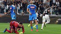 Neapol na kolenou. Ve šlágru italské ligy prohrála v Turíně s Juventusem 3:4.