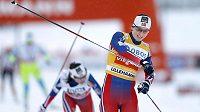 Marit Björgenová vyhrála sprint Světového poháru v běhu na lyžích v Lillehammeru.