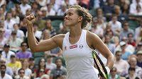 Dobojováno. Barbora Strýcová je v semifinále Wimbledonu.