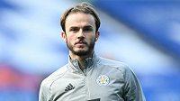 Fotbalový záložník James Maddison z Leicesteru