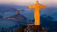 Socha Ježíše Krista v Rio de Janeiru.