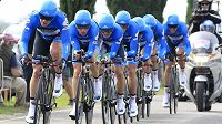 Tým Garmin-Barracuda prosvištěl středeční časovku na Giro d´Italia nejrychleji.