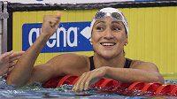 Slovenská plavecká hvězda Martina Moravcová v dobách své největší slávy