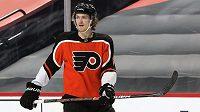 Hokejový obránce Travis Sanheim se upsal na další dva roky Philadelphii.