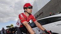 Belgický cyklista Jens Debusschere