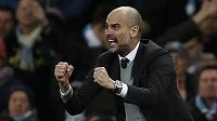 Trenér Manchesteru City Pep Guardiola.