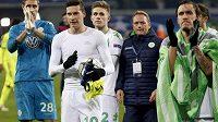 Julian Draxler (10), který Wolfsburgu pomohl dvěma góly v prvním osmifinále LM proti Gentu.