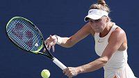 Markéta Vondroušová při US Open