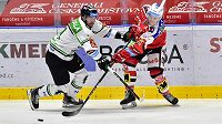 O extraligové body bojuje HC Dynamo Pardubice a BK Mladá Boleslav.
