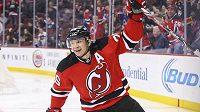 Patrik Eliáš slaví svůj 400. gól v NHL