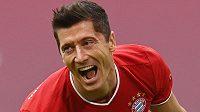 Ostrostřelec Bayernu Robert Lewandowski.