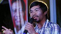 Slavný filipínský boxer Manny Pacquiao zvažuje návrat do ringu.