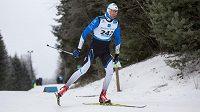 Estonský běžec na lyžích Algo Kärp.