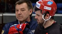 Vztahy mezi Alexandrem Radulovem a trenérem sborné Olegem Znarokem jsou na bodu mrazu.