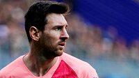 Argentinský fotbalista Lionel Messi v utkání s Eibarem.