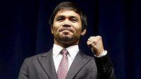 Slavný filipínský boxer Manny Pacquiao plánuje, že v příštím roce ukončí kariéru.
