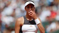 Obhájkyně titulu Garbiňe Muguruzaová skončila na French Open v osmifinále.