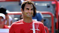 Roger Federer zažil hodně úsměvný moment