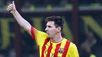 Lionel Messi bude dál řádit, je přesvědčený jeho trenér.