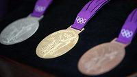 Kolekce olympijských medailí z her v Londýně