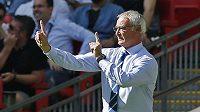Italský trenér Claudio Ranieri bude v Leicesteru působit další dva roky.