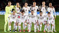 Čeští fotbalisté před přátelským duelem se Slovenskem.
