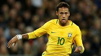Neymar nechybí v nominaci Brazílie na MS.