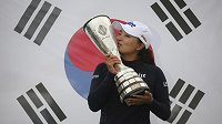 Golfistka Ko Čin-jong vyhrála po úvodním majoru sezony LPGA, dubnovém ANA Inspiration, i ten závěrečný Evian Championship.